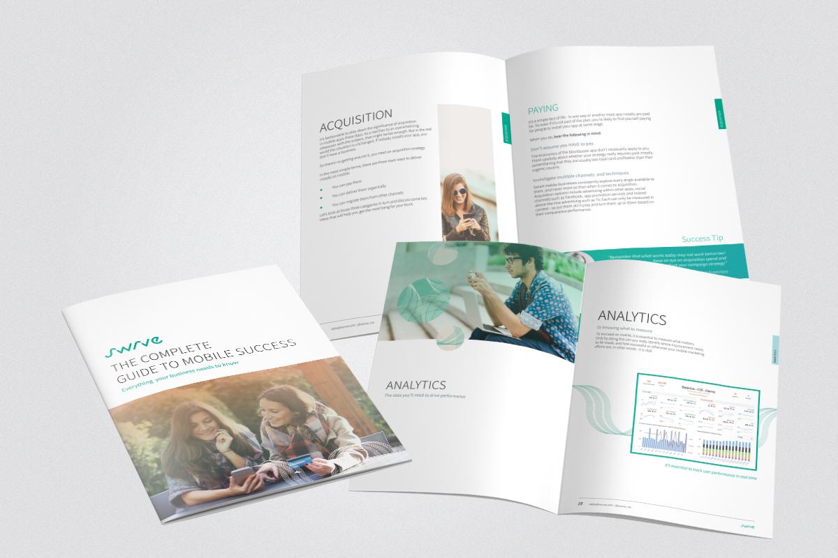 Brochure design for Swrve