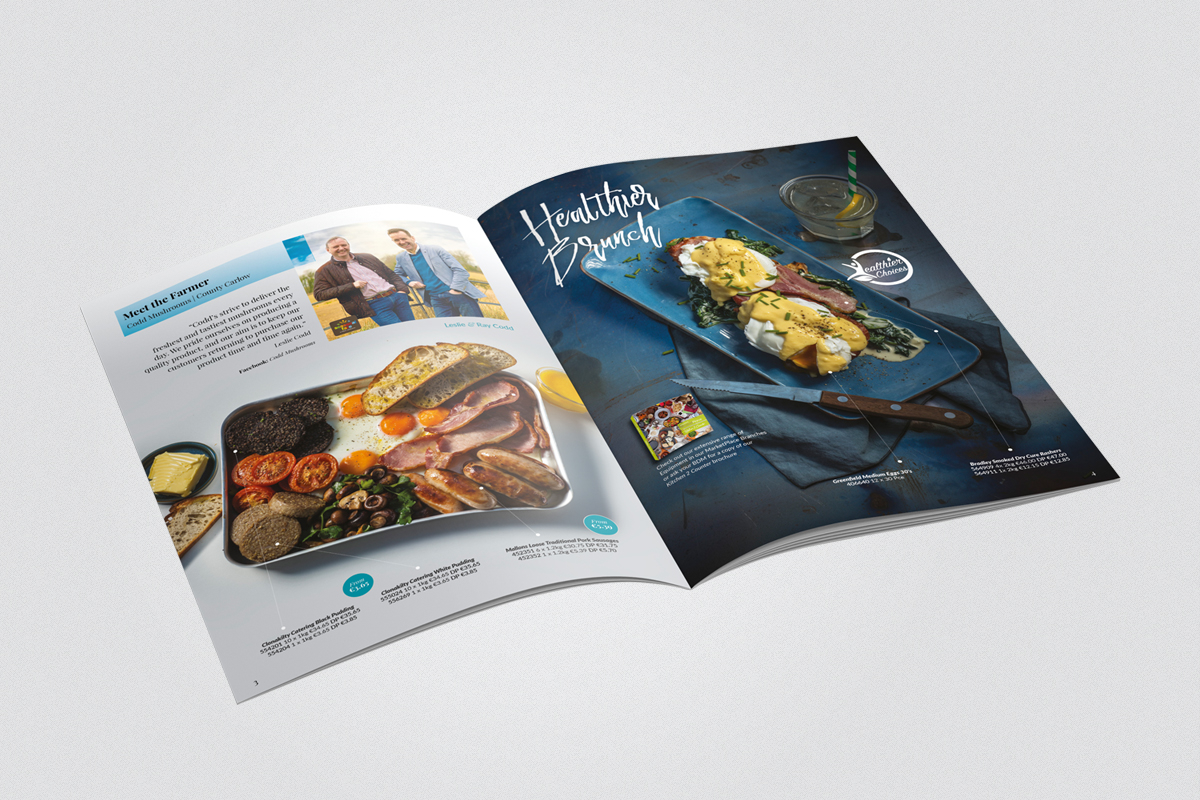 DPS for Food Service magazine, meet the supplier section