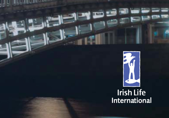 Design for Irish Life international