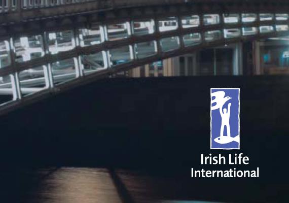 Design for Irish Life international