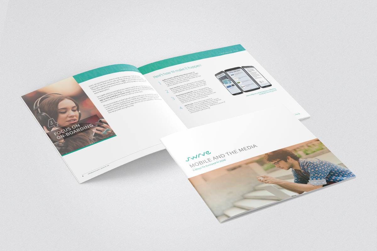 Swerve Media brochure design
