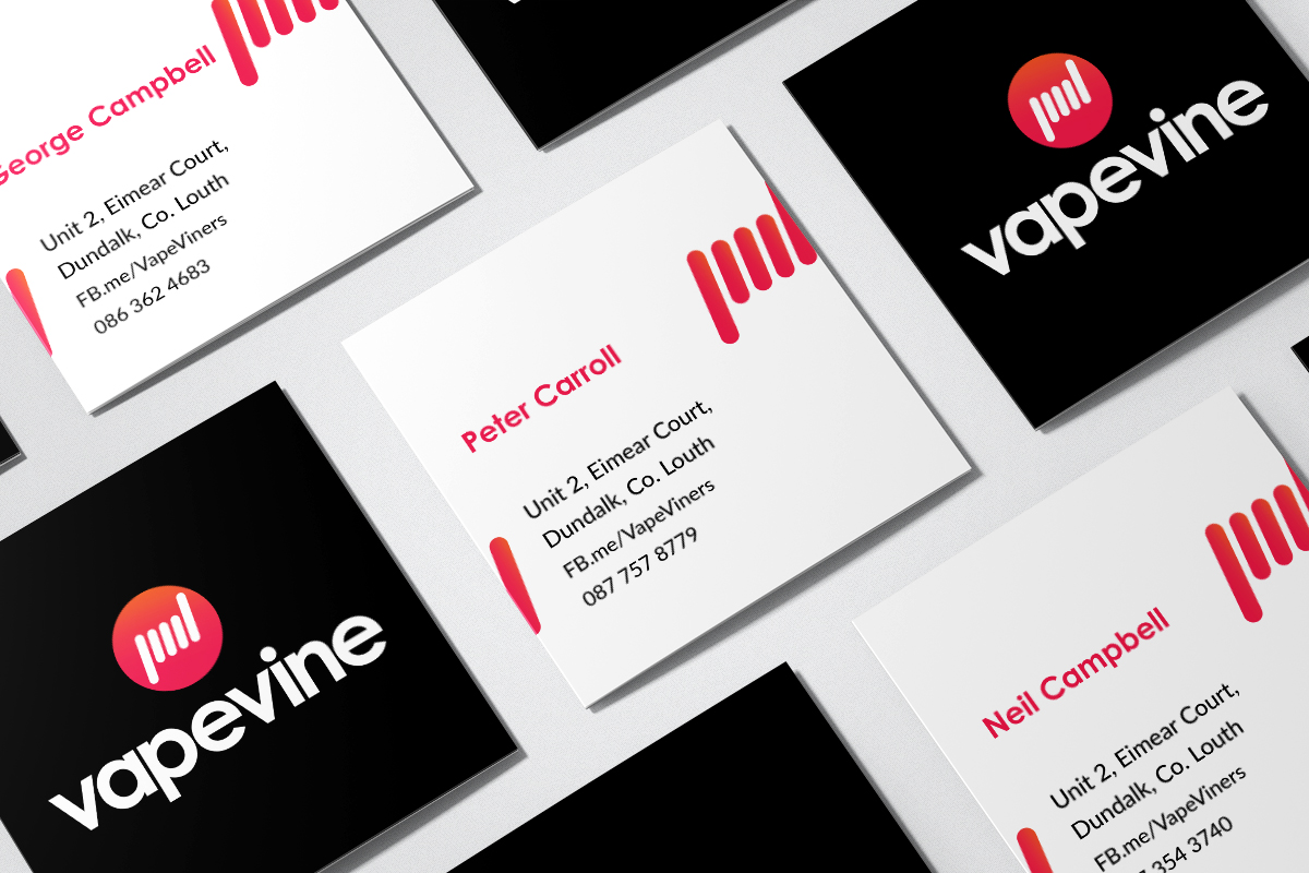 Vine Vape Business Cards