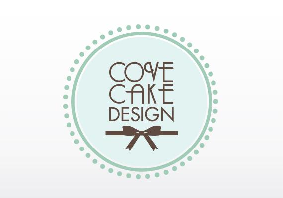 Cove Cake Design branding