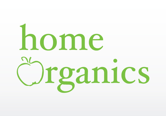Home Organics logo design
